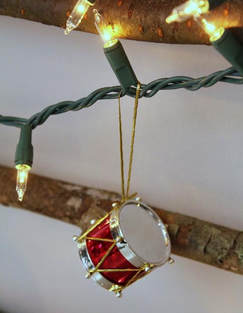 tambor ornamento - Tartarugas e Tails blogue