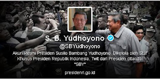 Akun twitter asli presiden SBY