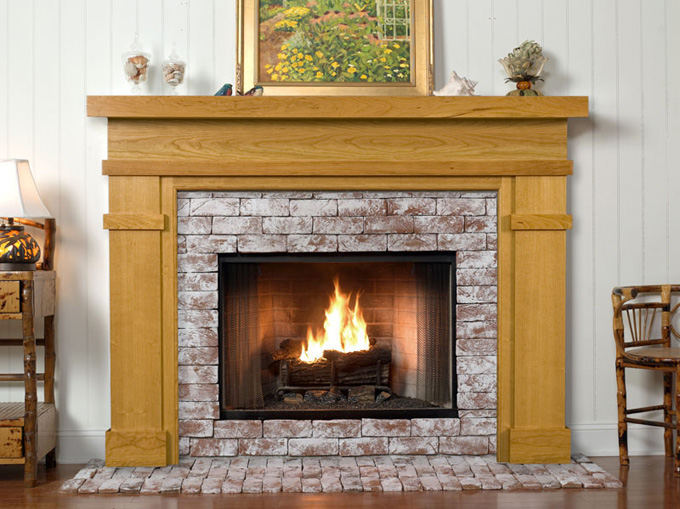 Fireplace mantels as a center point in the interior design - Pictures of fireplace mantels ...