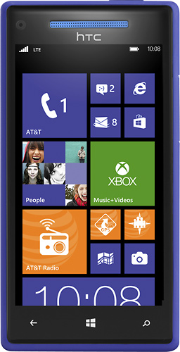 Htc pm23300 windows phone 8x 4g with 16gb mobile phone for Window 4g mobile