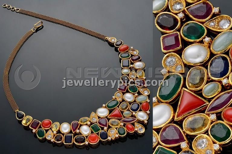 Pearl bracelet gold chain
