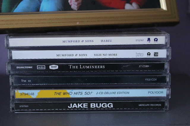 CD's jake bugg The who The xx