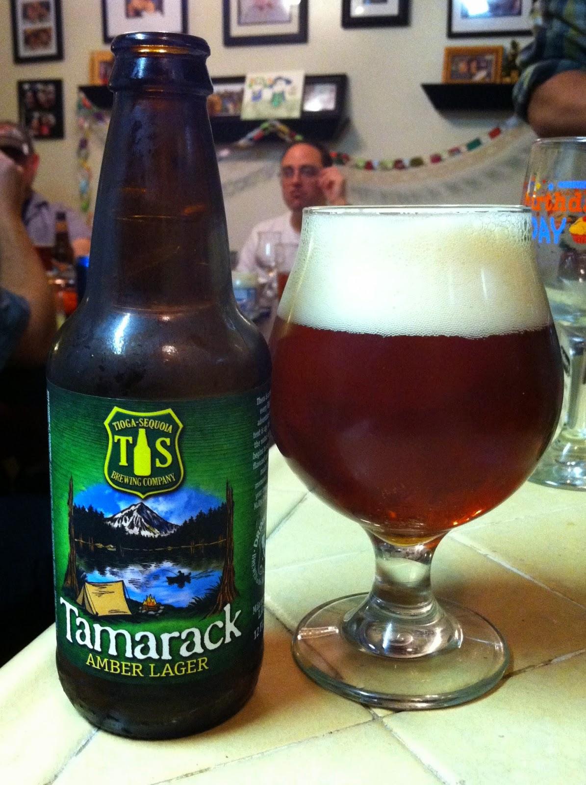 Tioga Sequoia Tamarack Amber Lager 1