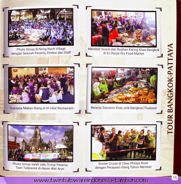 Incentive Trip Tulipware 2014 : Tour Bangkok - Pattaya