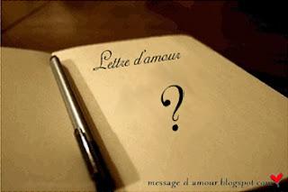 lettre d amour