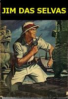 """JIM DAS SELVAS - """"O Cacique Branco"""" - 1951"""