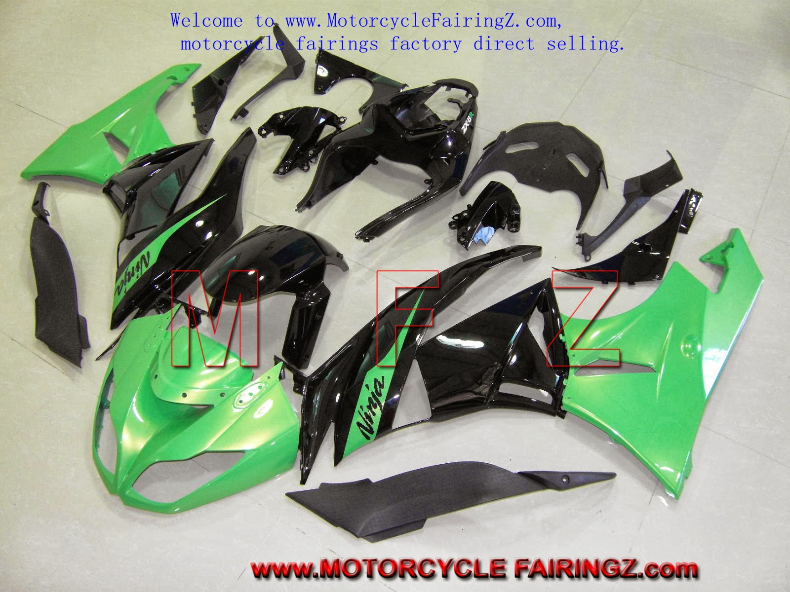 Motorcycle Fairing at motorcyclefairingz  Body Work For KAWASAKI