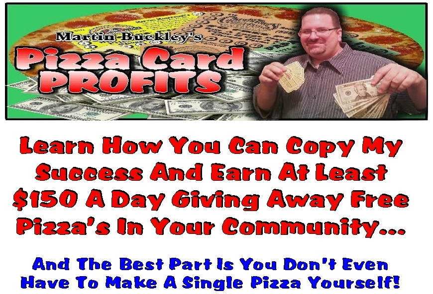 Pizza Card Profits