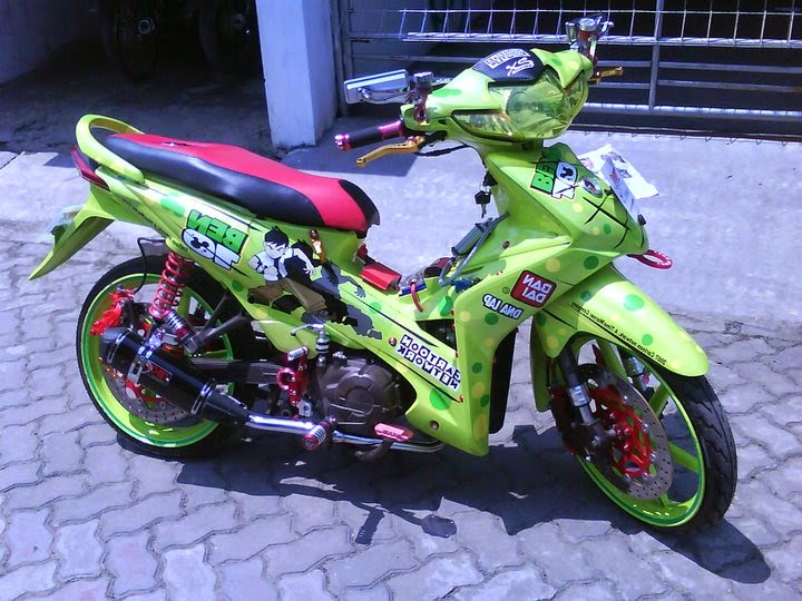 modifikasi body honda absolute revo