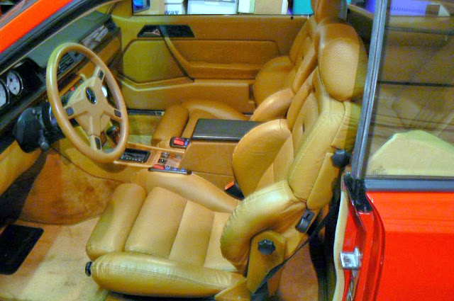 w124 interior