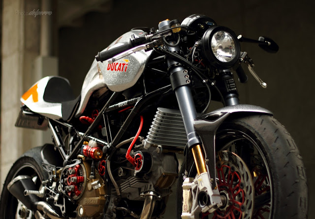 Ducati cafe Racer | Ducati monster S2R 1000 Cafe Racer | Ducati Monster cafe Racer | By Radical ducati