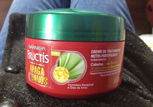 Testei! Máscara Apaga Danos - Garnier Fructis