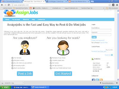 pohon pekerjaan, mohon kerja di rumah, faftar, log in, sign up, sign in,