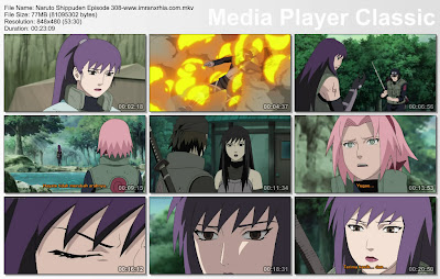 "Download Film / Anime Naruto Episode 308 ""Malam Bulan Sabit"" Shippuden Bahasa Indonesia"