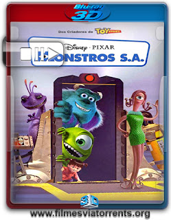 Monstros S.A. (Monsters, Inc.) Torrent - BluRay Rip