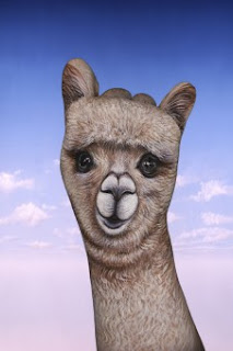 Alpaca:  Hand Painting