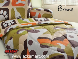 Sprei My Love Bruno