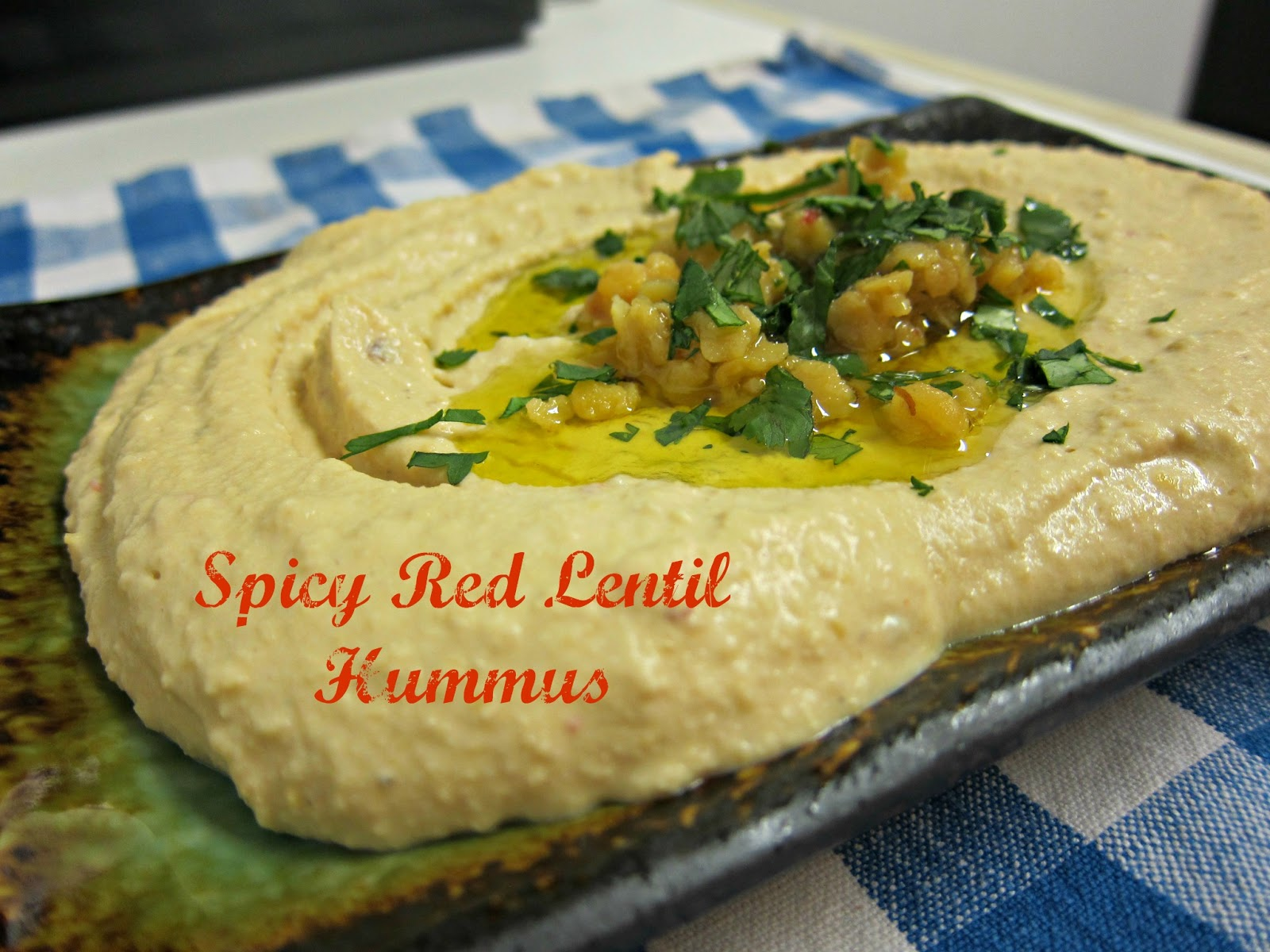 spicy red lentil hummus 1 1 2 cups red lentils