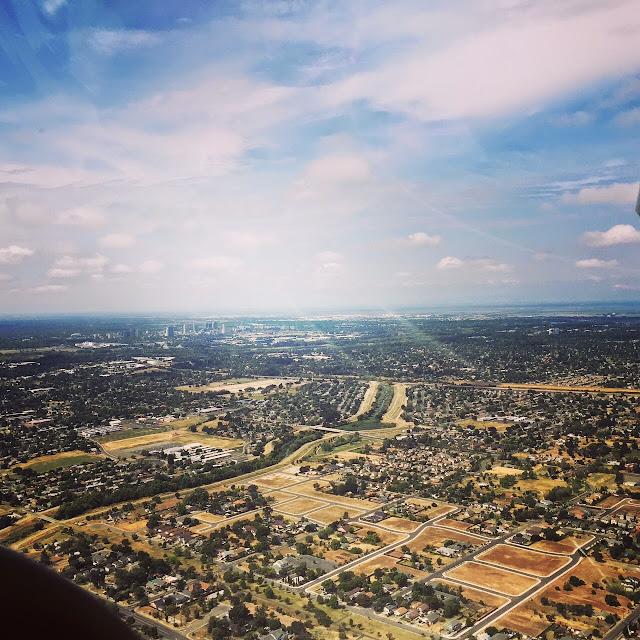 Sacramento at 1,200 feet