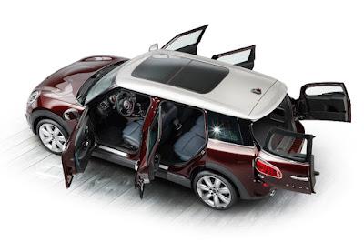 Mini Cooper S Clubman (2016) Rear Side