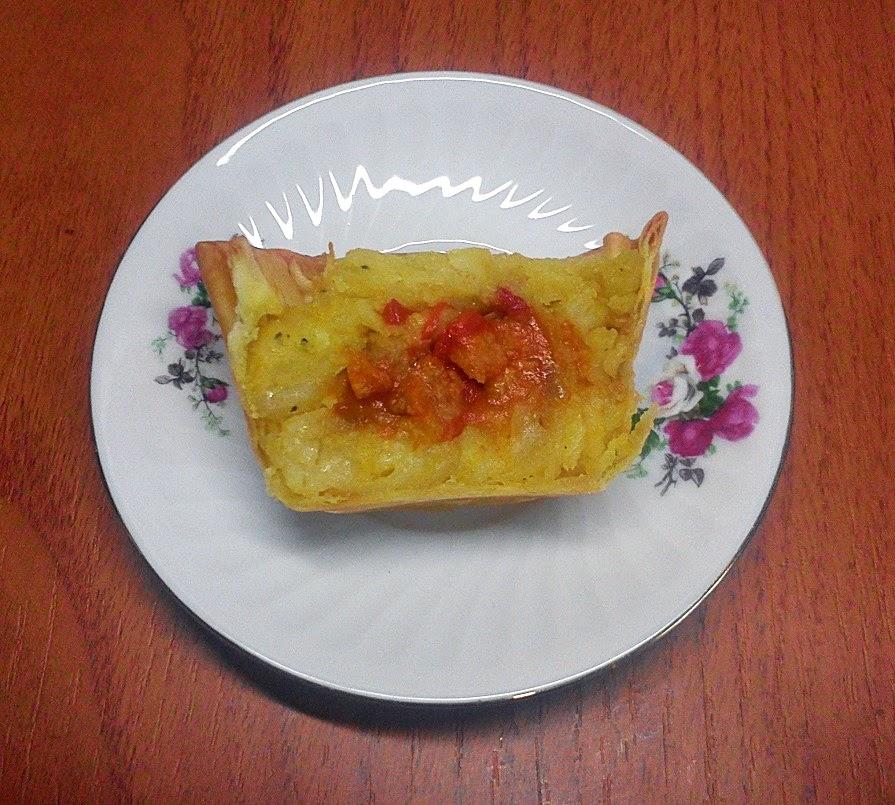 Corte de las Tartaletas de Tortilla