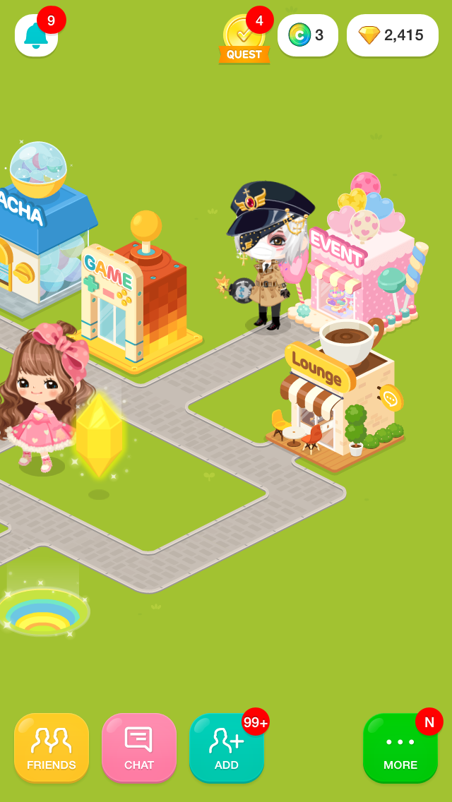 App'La Mode: LINE PLAY 101: Using Gift Codes