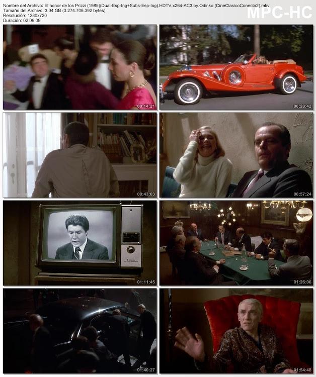 El honor de los Prizzi ( 1985 )