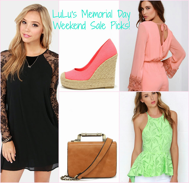 lulus memorial day sale, memorial day promotion, promo codes