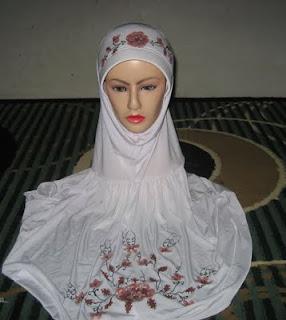 jilbab spandex lukis