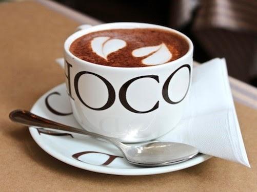 Cokelat Panas Rasa Bintang Lima