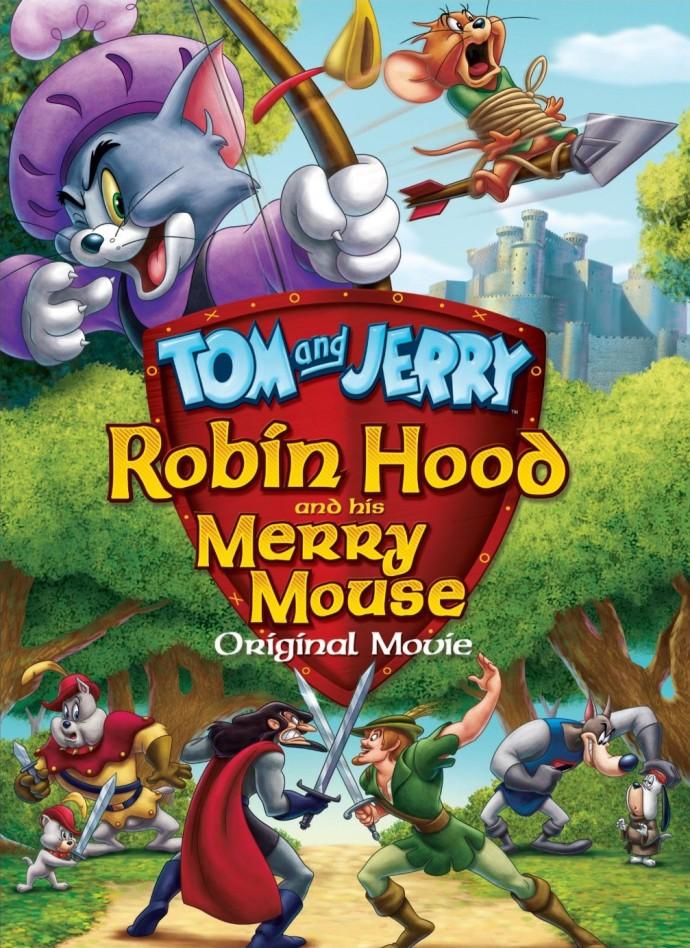 Tom et Jerry - L'histoire de Robin des Bois affiche