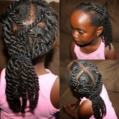 Natural Hair Kids Hairstyle Twists