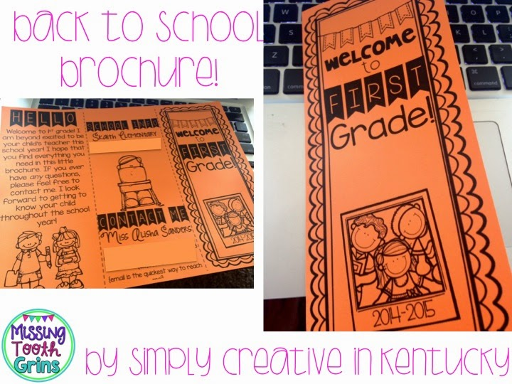 http://www.teacherspayteachers.com/Product/Editable-Back-To-School-Brochure-1278725