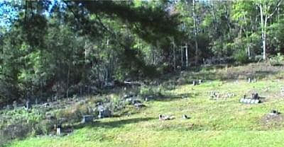 Roan Mountain, TN - Dark Hollow Cemetery