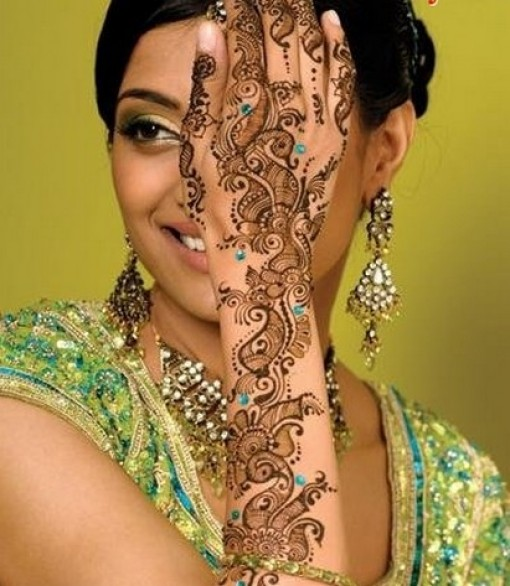 Mehndi Bridal Latest Design : Fashion indian wedding mehndi designs