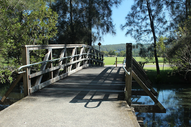 Bridge near Carawah Reserve carpark