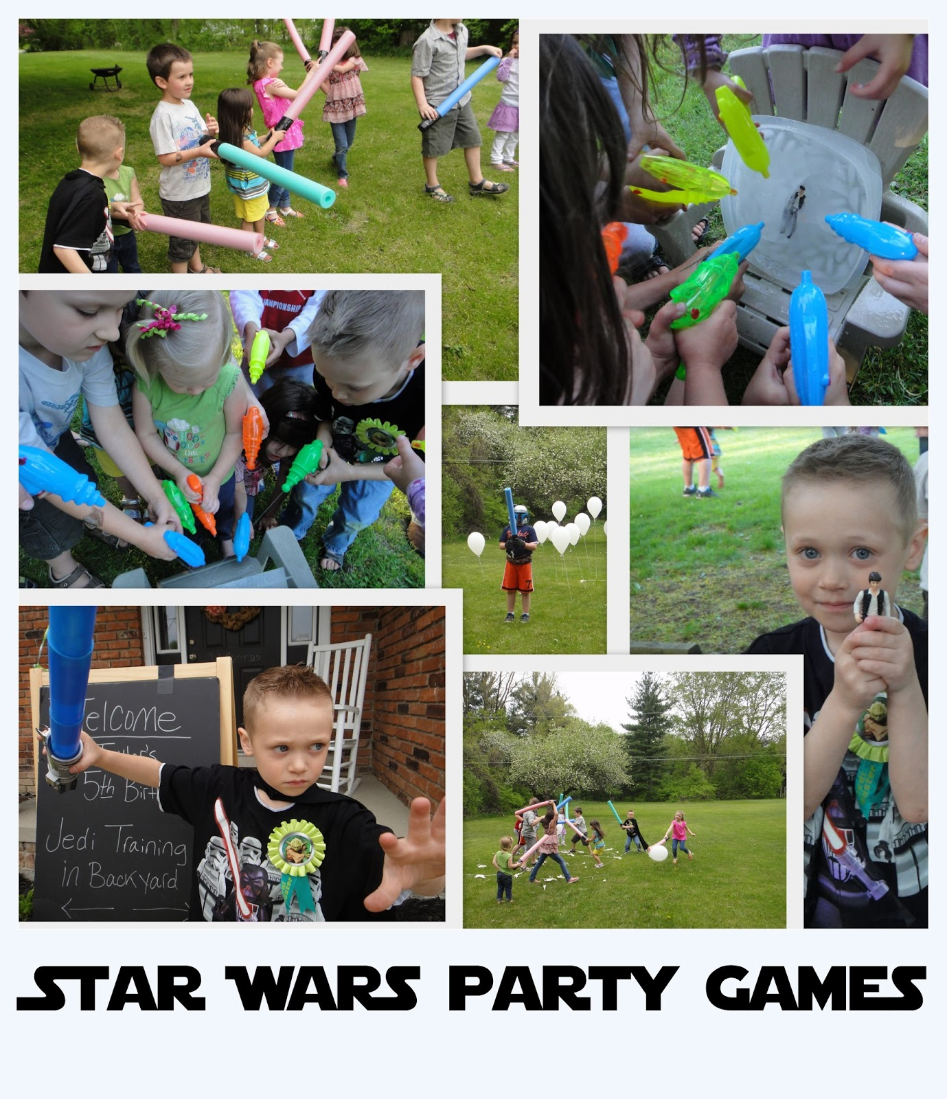 Atwp: Star Wars Themed Party Games
