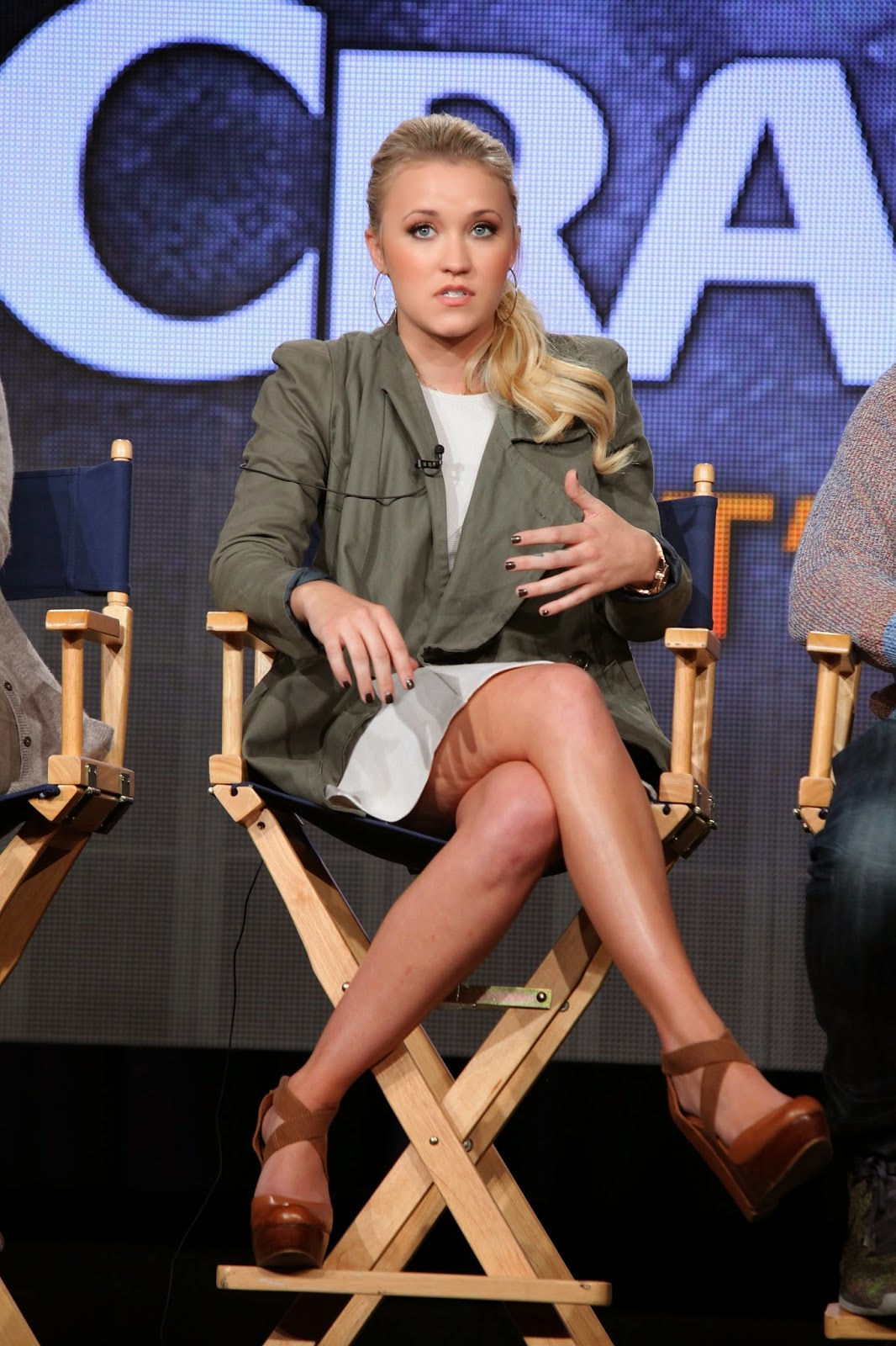 Asses Emily osment upskirt picture moans make