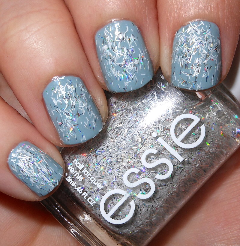 Imperfectly Painted Essie Peak Of Chic