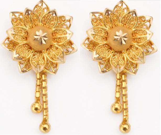 Latest Design Of Gold Earrings