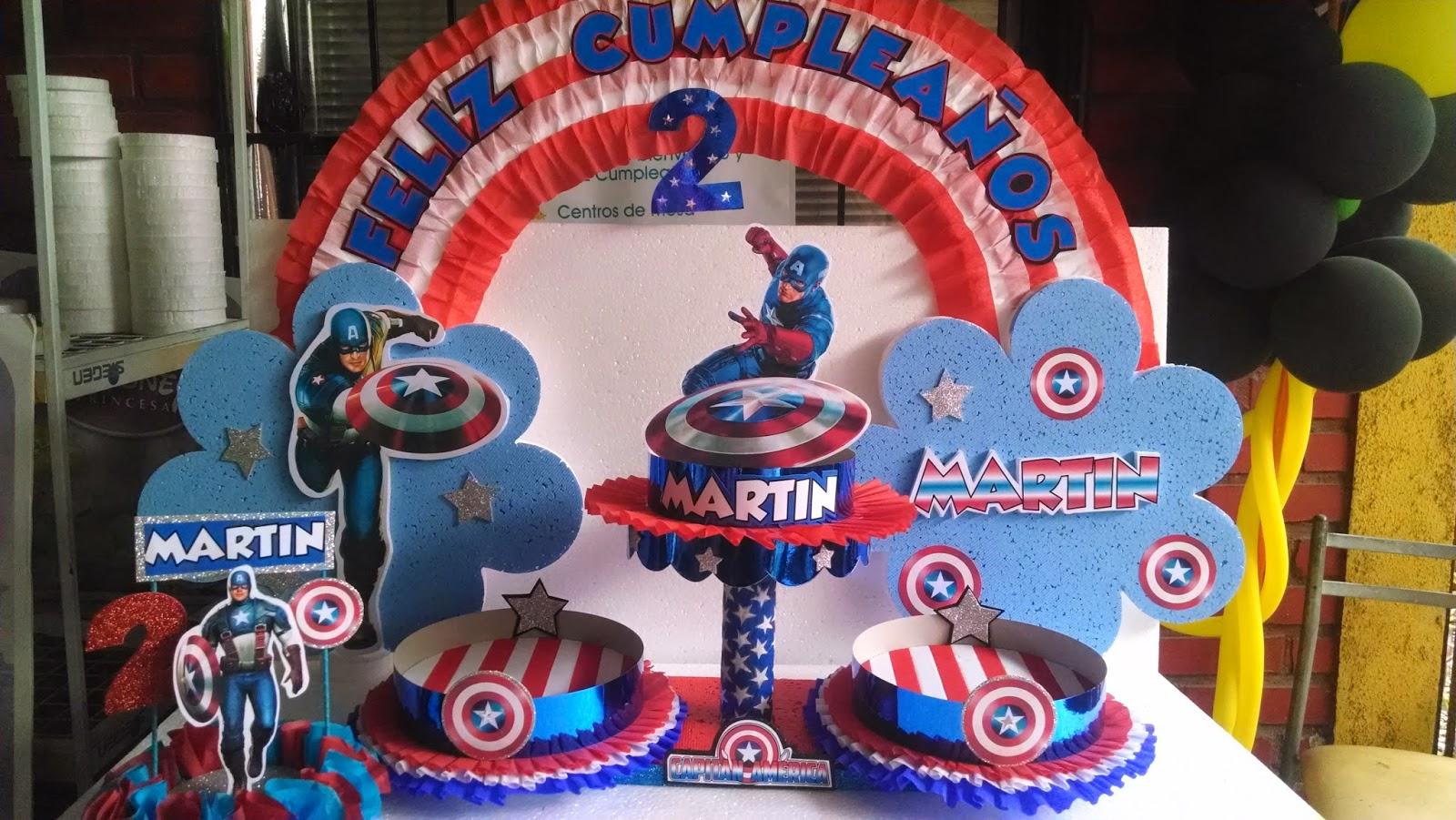 Decoraciones De Capitan America