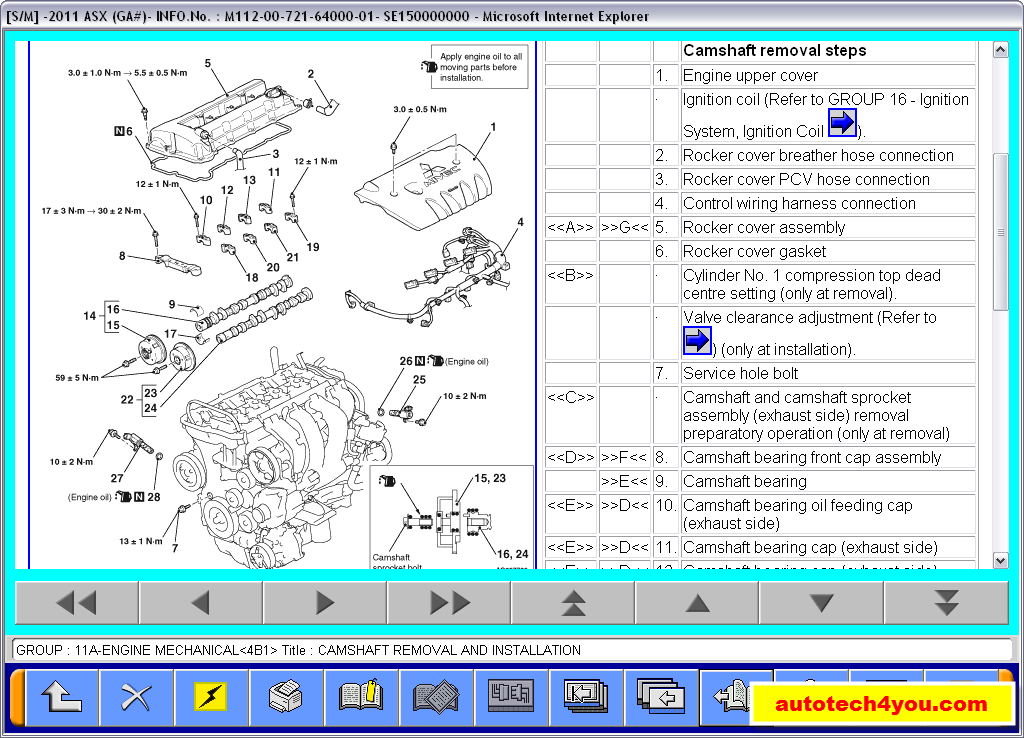 Mitsubishi Asx 2011 Service Manual