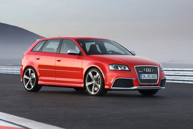 2012 Audi RS3 Sportback Red Wallpaper