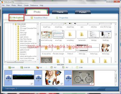: SlideShowZilla 1.55 Full Serial - Membuat Image Gallery Slide Show