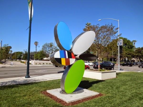 Reckon sculpture Brad Howe Beverly Hills