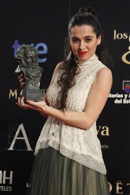 Silvia Pérez Cruz (Goya a la mejor canción original por Blancanieves).