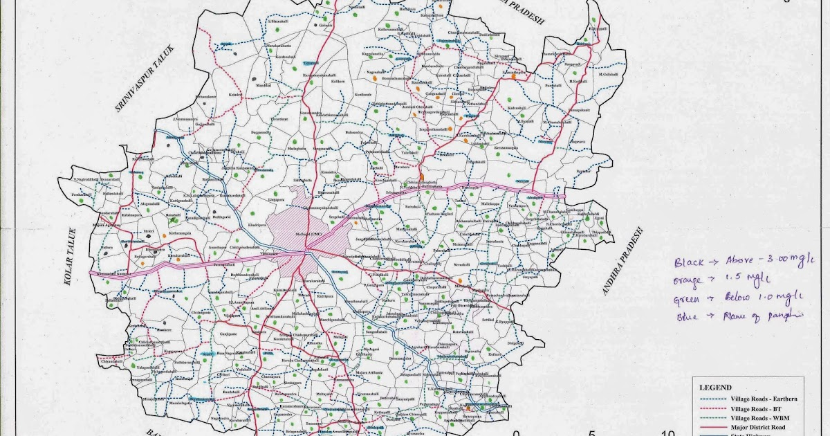 Biome Trust Spatial Mapping Of Fluoride Contamination In Ground Water In Mulbagal Taluk Kolar District