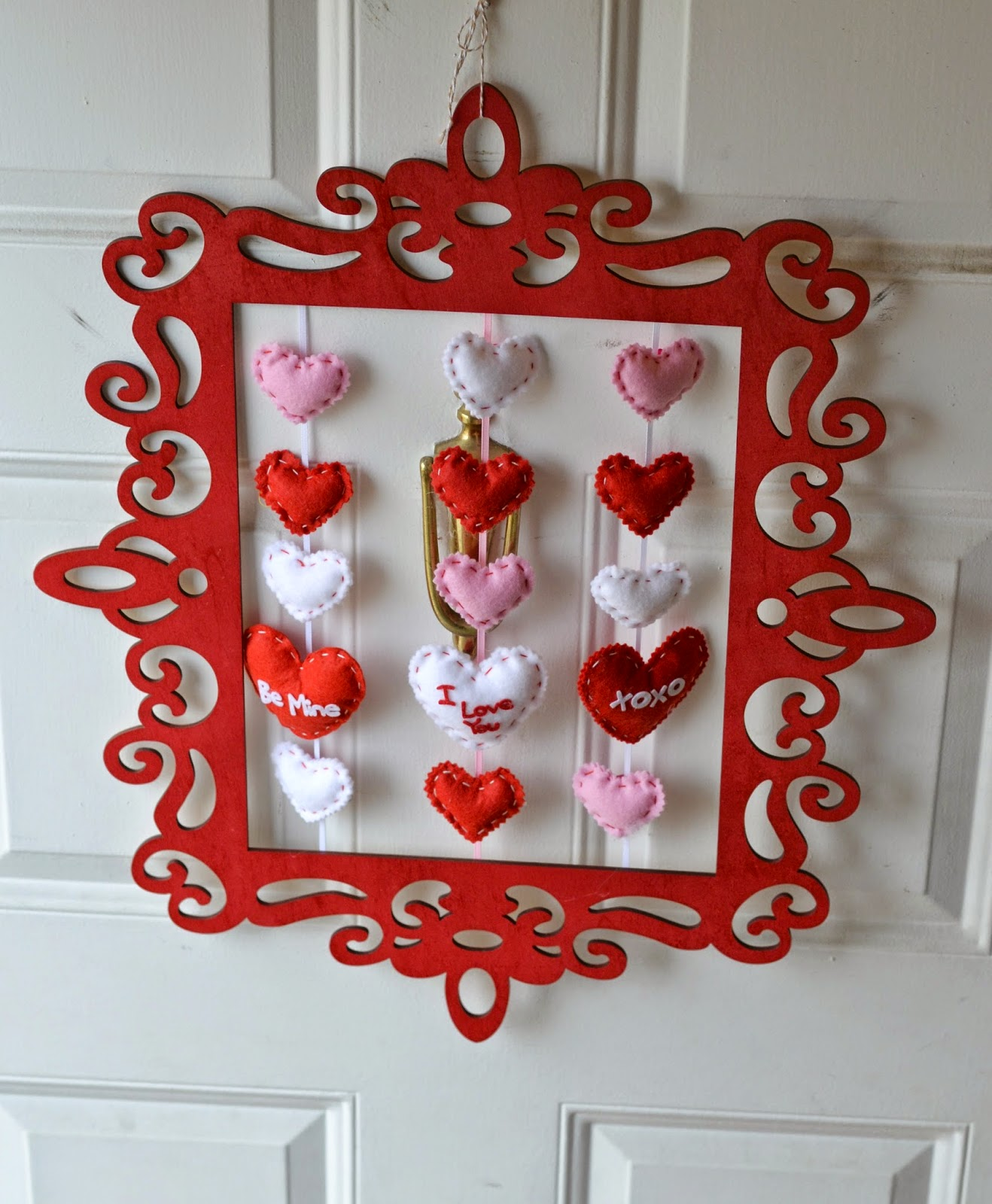 valentine wreaths for your front doorVintage Picture Frame Valentines Day Wreath DIY Building Our Story