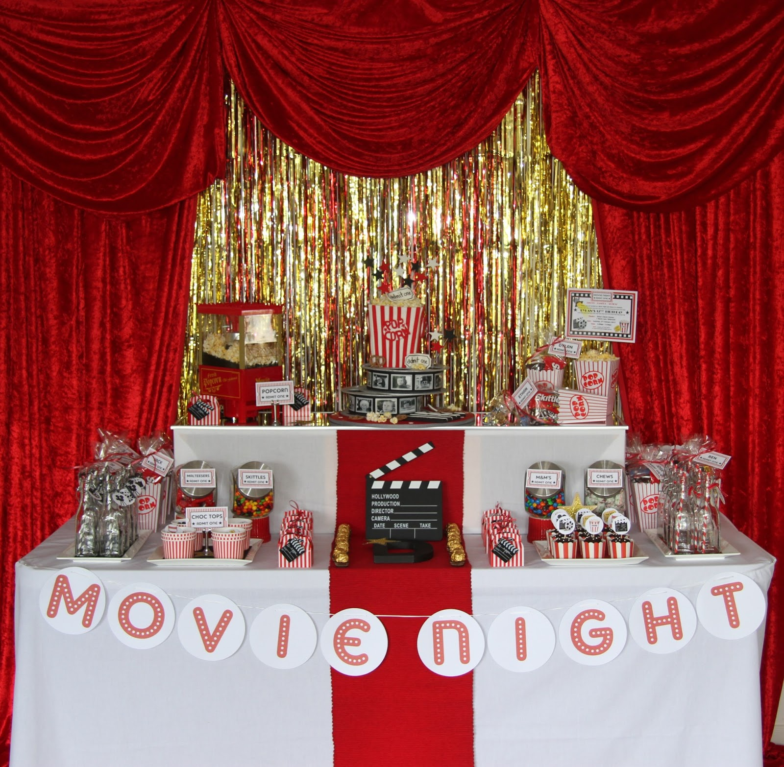 Leonies Cakes And Parties MOVIE NIGHT PARTY