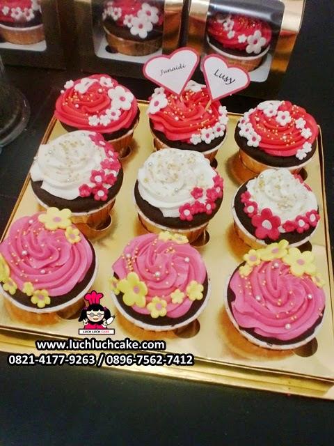 Cupcake Lamaran Cantik Daerah Surabaya - Sidoarjo